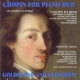 Goldstone / Clemmow Chopin For Piano Duo