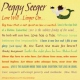 Seeger, Peggy Love...Wil..Linger..On
