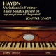 Haydn, F.j. Variations In F Minor