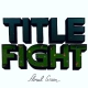 Title Fight Floral Green -Digi-