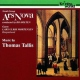 Tallis, T. Music By Thomas Tallis