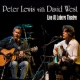 Lewis, Peter Live At Lobero Theatre