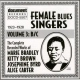 V / A Female Blues Singers...