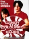 White Stripes Candy Coloured Blues