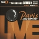 Monk, Thelonious Paris Jazz Concert