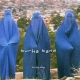 Burka Band Burka Blue