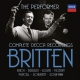 Britten Benjamin Britten The Performer