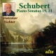 Schubert, Franck Piano Sonatas No.19,21