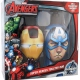 Marvel: Avengers Iron Man & Captain America - kolekce 300ml (muž)