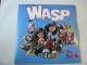 Wasp Vinyl WASP The Real Me 7 Capitol CLG534 EX/EX 1989 picture sleeve, blue viny