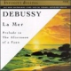 Debussy CD La Mer / Prelude to the Afternoon of a Faun