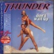 Thunder CD DON'T WAIT UP by THUNDER